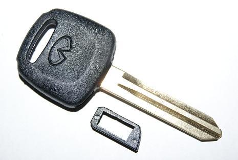 Артикул KI001. test. Бланк ключ Infiniti тип 1. С нишей под установку